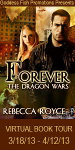 VBT Forever The Dragon Wars Book Cover Banner